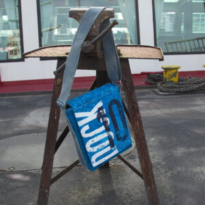 Umhängetasche in Elbwasserblau