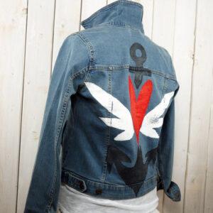 Unsere erste Jeansjacke