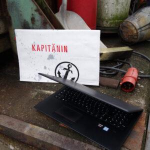 Laptoptasche für digitale Schiffspapiere