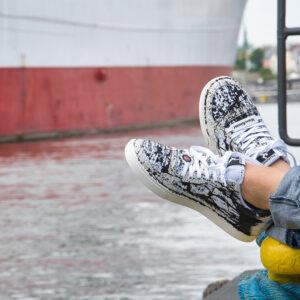 Schuhe für den Maschinisten