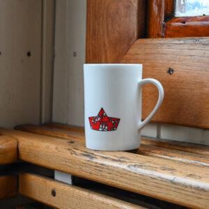Kaffee oder Tee ist dem hier egal.