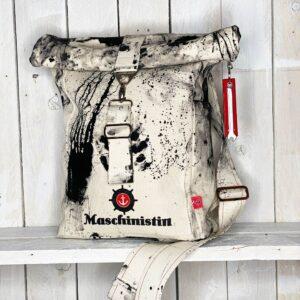 Ein Rucksack, der was aushält und dabei noch cool aussieht.